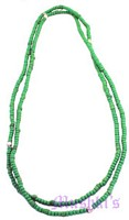 Seed bead necklace - click here for large view