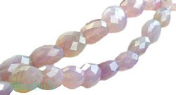 Chalcedony Oval Faceted - click here for large view