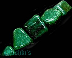 Green Aventurine Tumbler - click here for large view