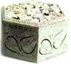 Soft Stone Marble Jewellery / Pill box - click here for large view
