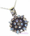 Designer Pendant -Chain Necklace - click here for large view