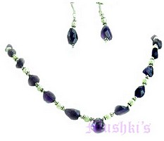 Matching Necklace Earring Set - click here for large view