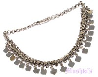 Indian ethnic tribal necklace - click here for large view