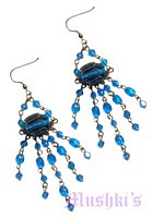Designer beaded earring - click here for large view